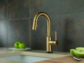 delta-trinsic-kitchen-faucet-champagne-bronze-finish